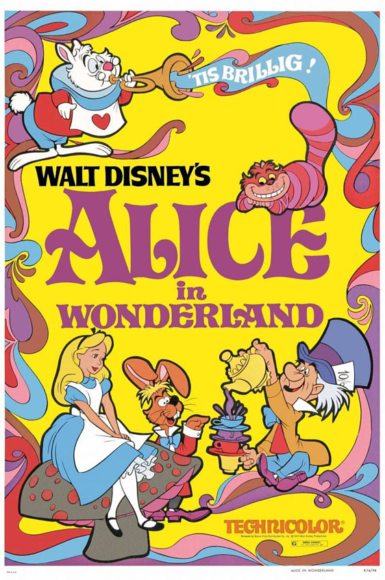 Alice in Wonderland Poster #1