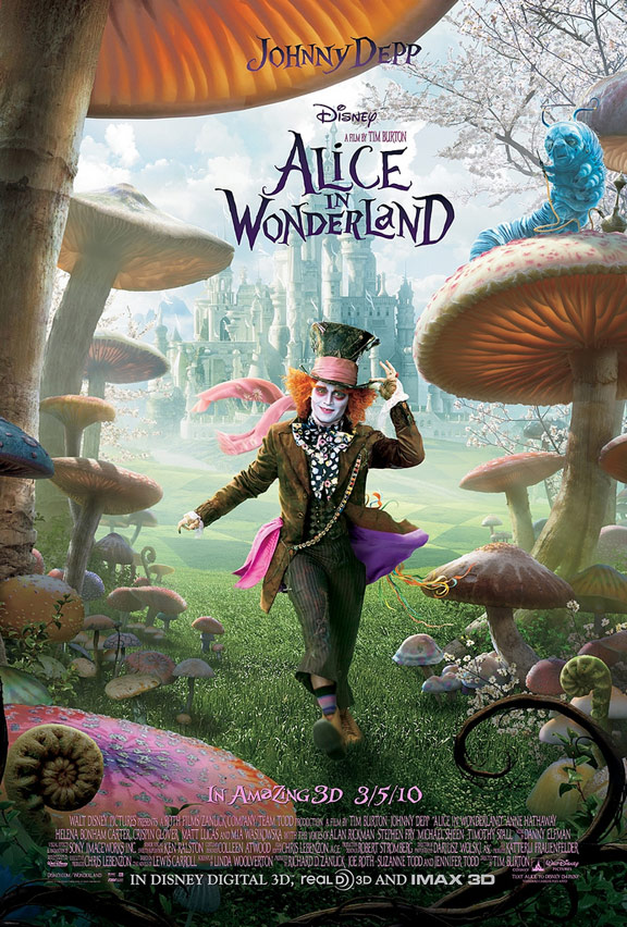 Alice in Wonderland Poster #10