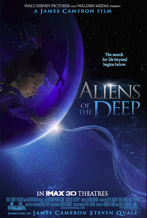 Aliens of the Deep Poster #1