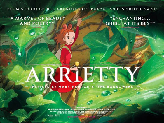 The Secret World of Arrietty Poster #1