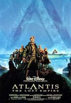 Atlantis: The Lost Empire Poster #2