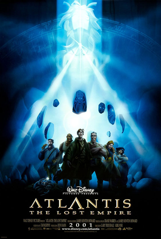 Atlantis: The Lost Empire Poster #3