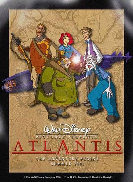 Atlantis: The Lost Empire Poster #4