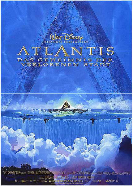 Atlantis: The Lost Empire Poster #6