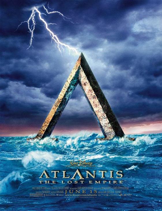 Atlantis: The Lost Empire Poster #1