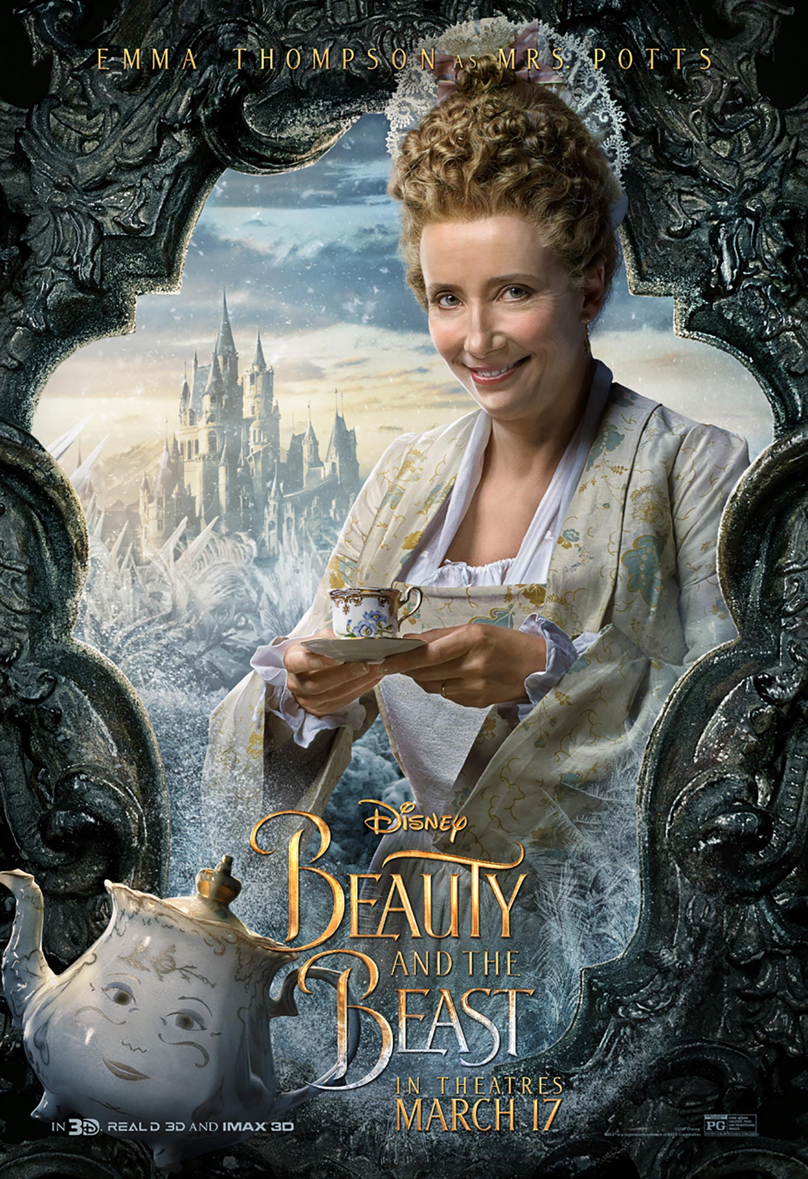 Beauty and the Beast Poster #12