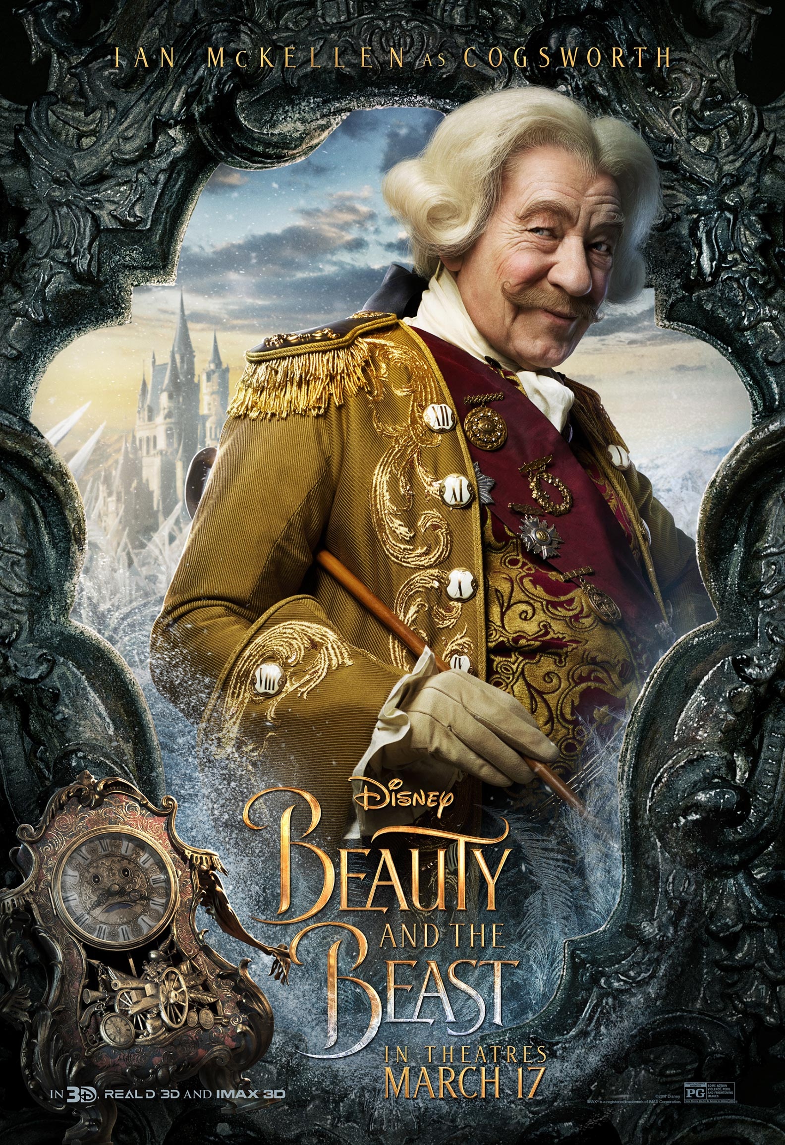 Beauty and the Beast (2017) Poster #3 - Trailer Addict