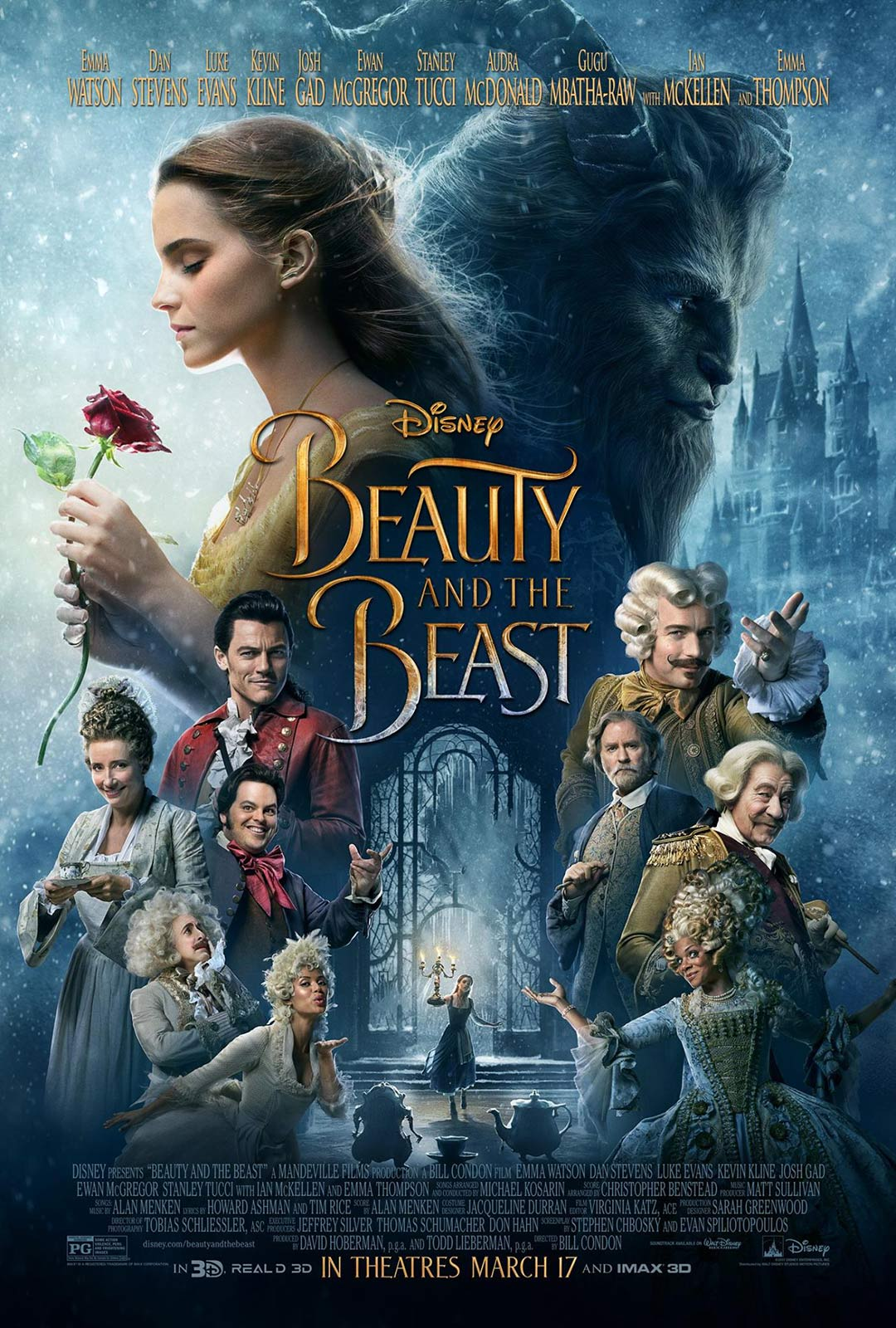 Beauty and the Beast Poster #3