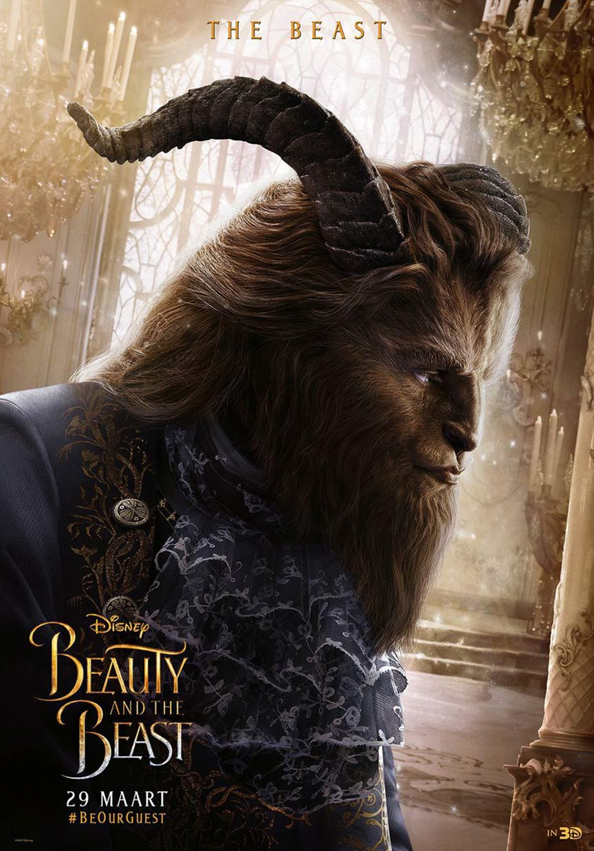 Beauty And The Beast (2017) Poster #1