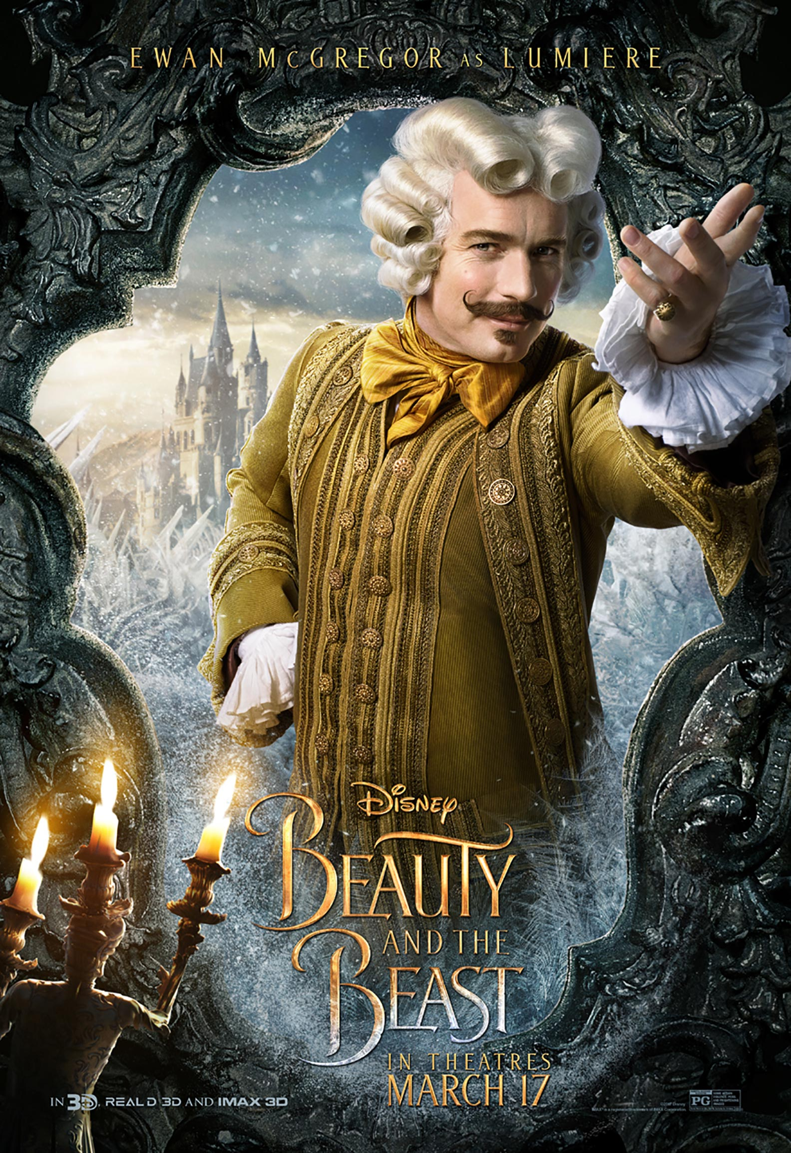 Beauty and the Beast Poster #9