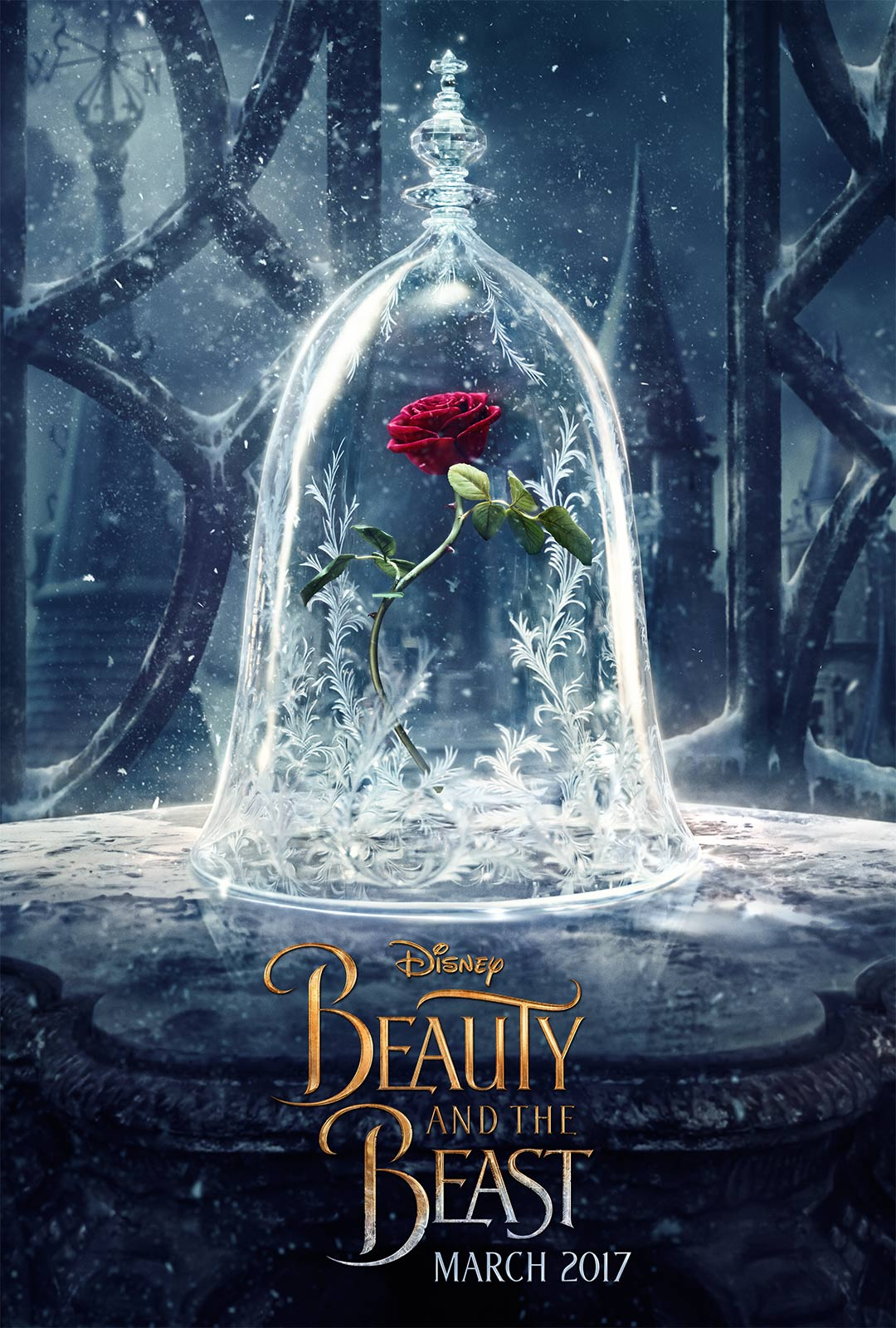 Beauty And The Beast 2017 Poster 1