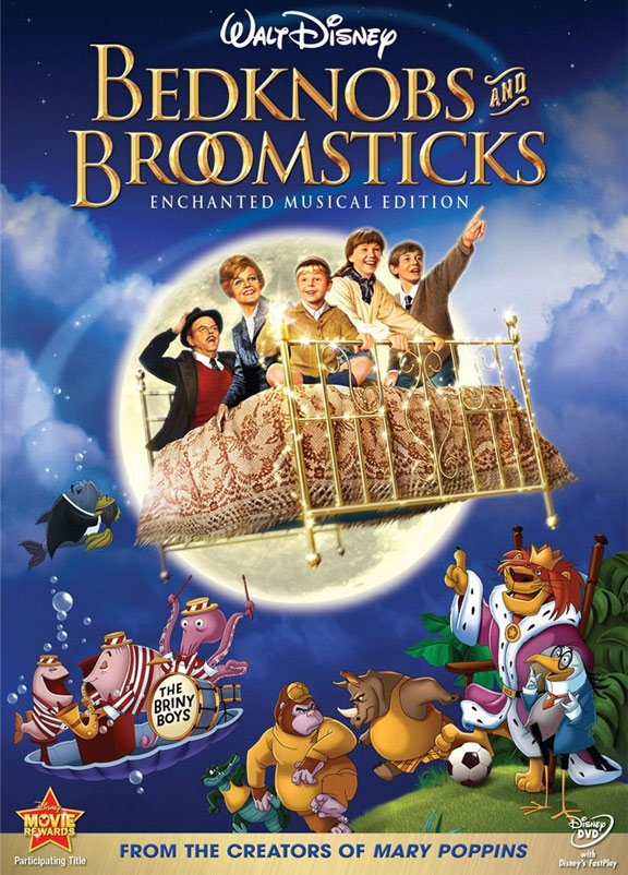 Bedknobs and Broomsticks Poster #3