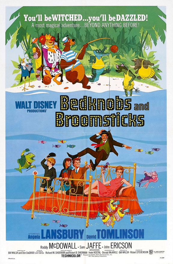 Bedknobs and Broomsticks Poster #1