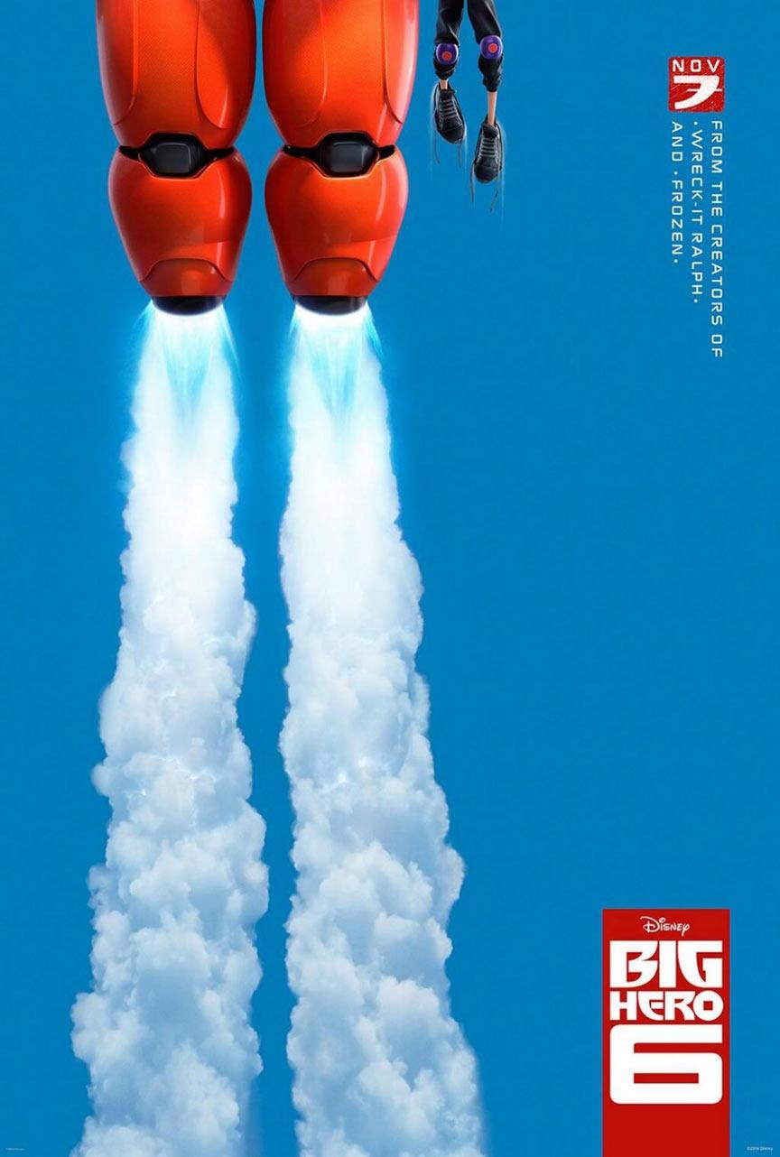 Big Hero 6 Poster #1