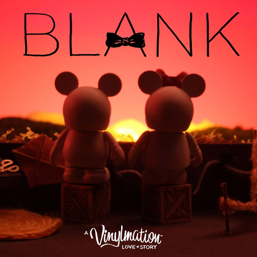 Blank: A Vinylmation Love Story Poster #1