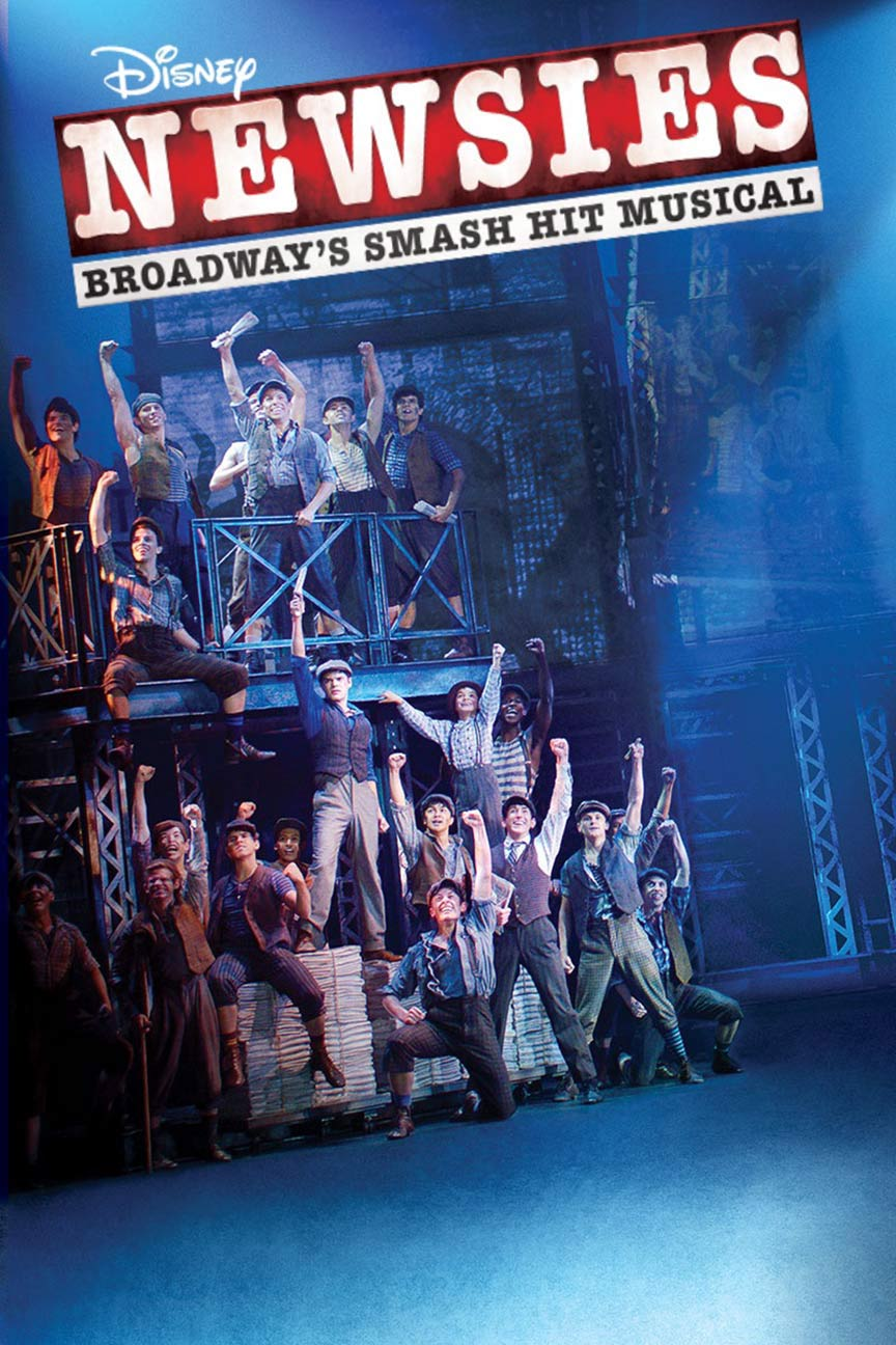 Disney's Newsies the Broadway Musical Poster #1