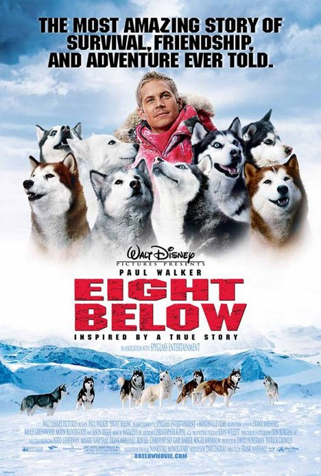 Eight Below Poster #1