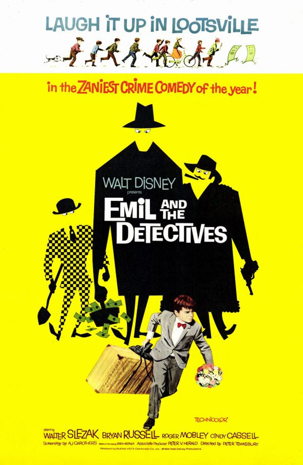Emil and the Detectives Poster #1