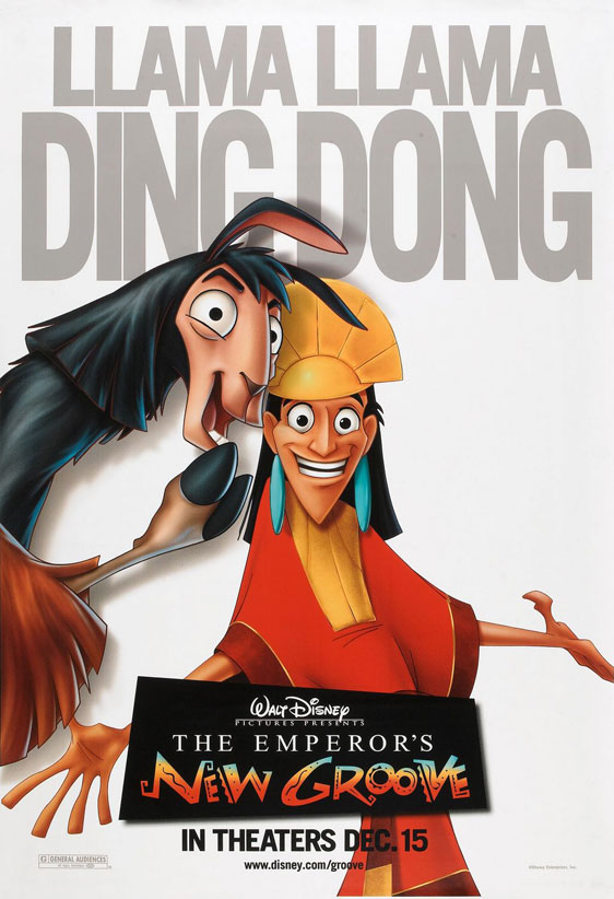 The Emperor's New Groove Poster #4