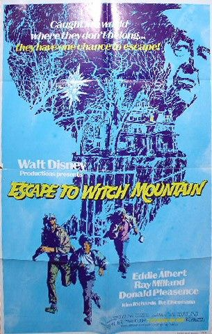 Escape To Witch Mountain 1975 Poster 1 Trailer Addict