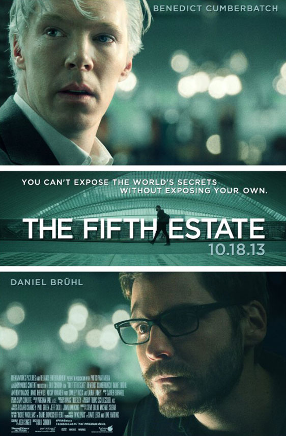 The Fifth Estate Poster #1