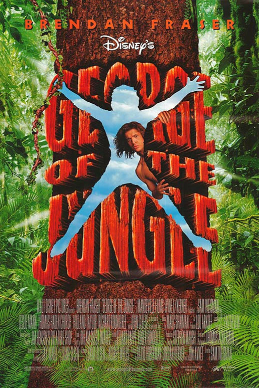 George of the Jungle Poster #1
