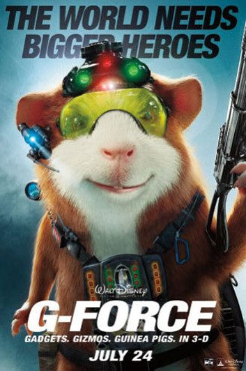 G Force 2009 Poster 4 Trailer Addict