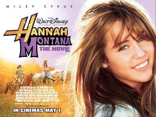 Hannah Montana The Movie Poster #2