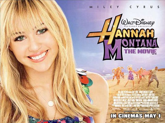 Hannah Montana The Movie Poster #3
