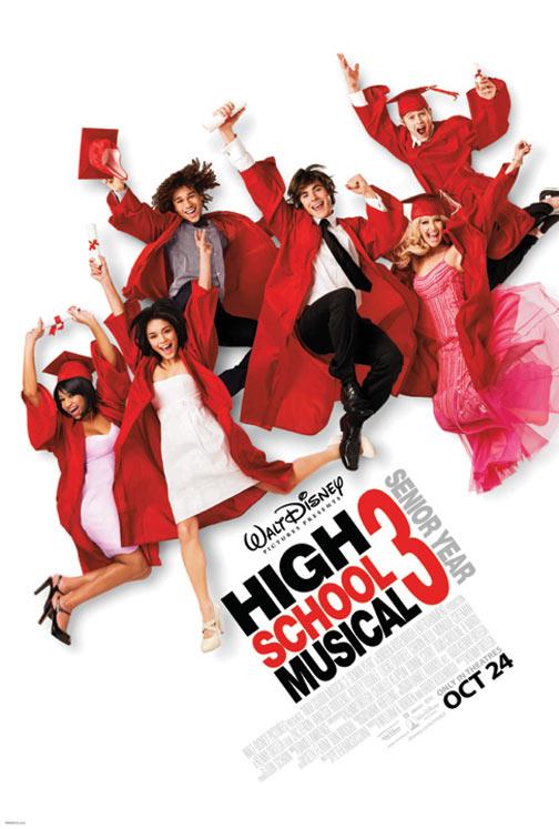 High School Musical 3: Senior Year Poster #1