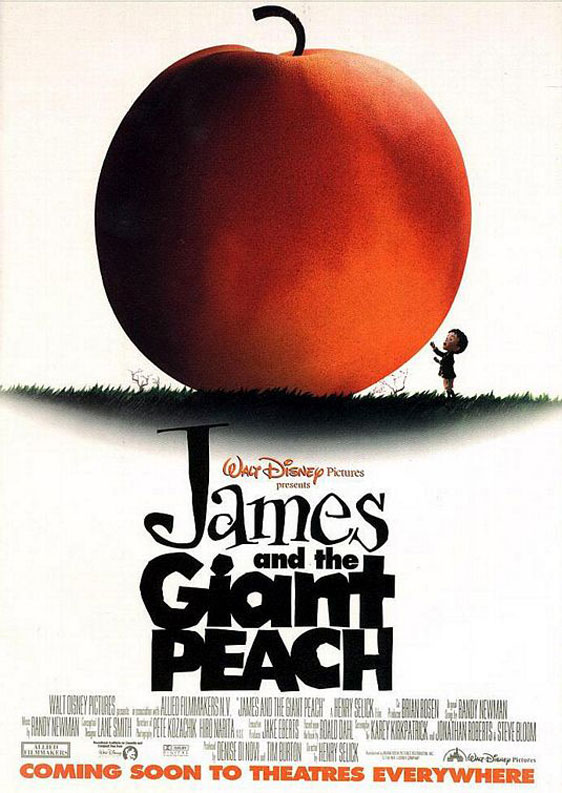 James and the Giant Peach Poster #1
