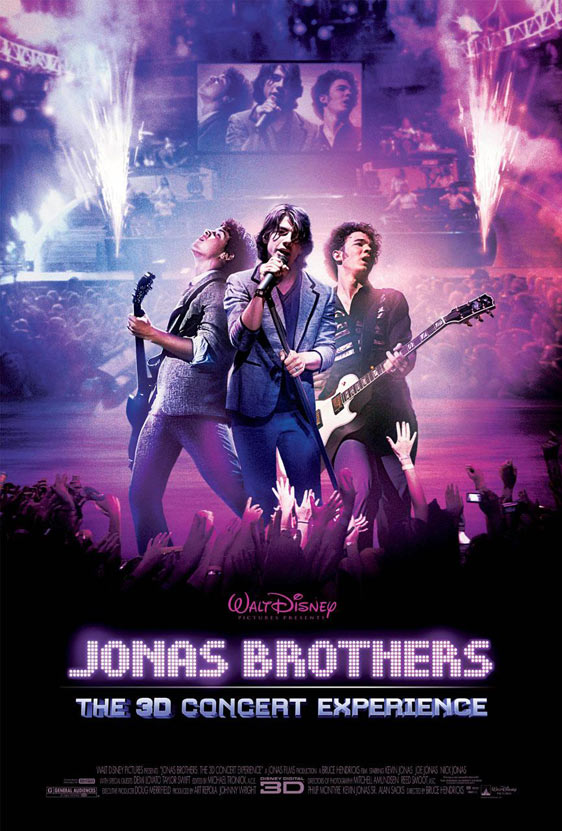 Jonas Brothers: The 3D Concert Experience Poster #1