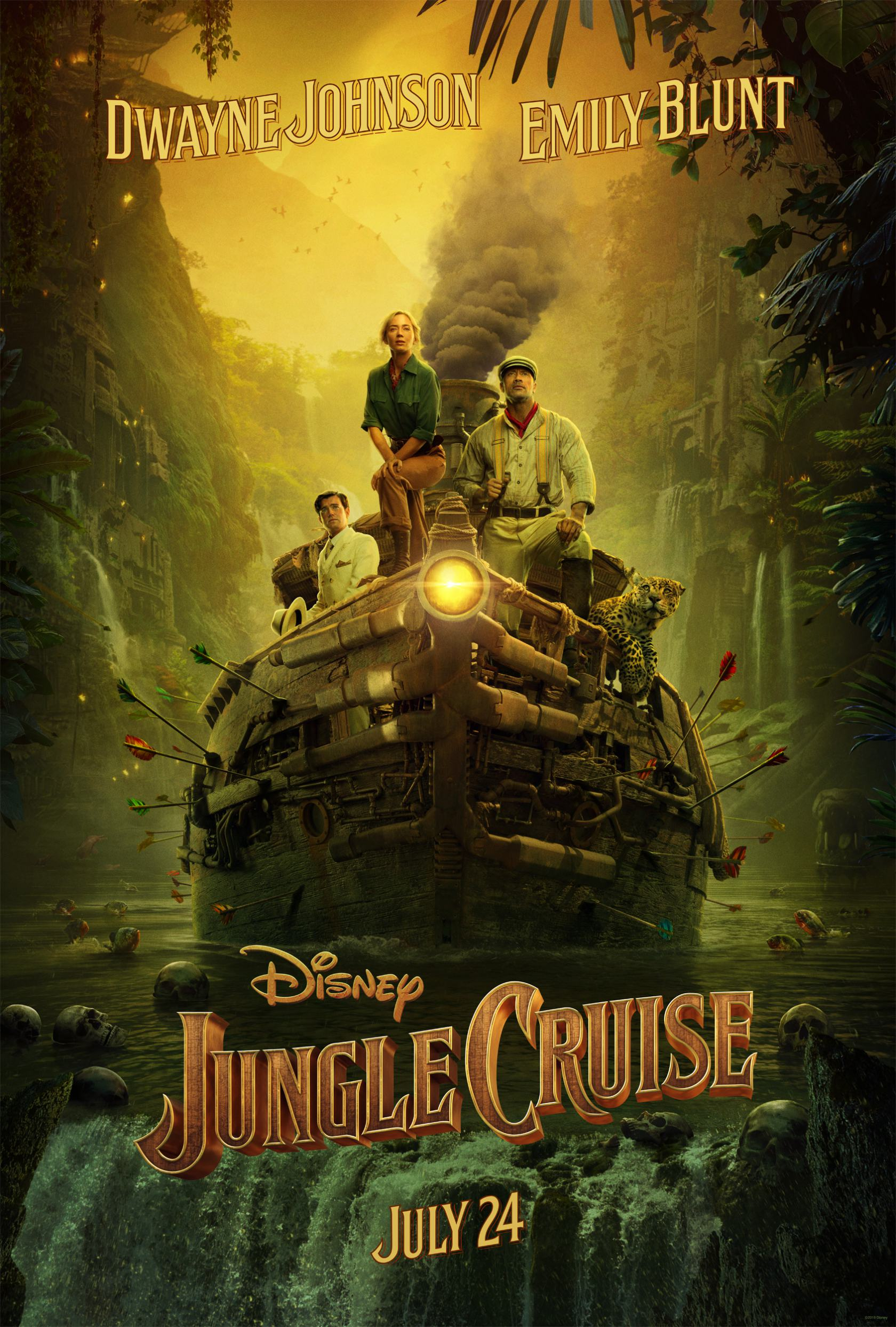 Jungle Cruise Poster #1