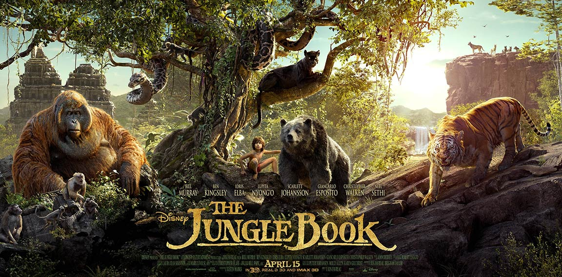 The Jungle Book Poster #4