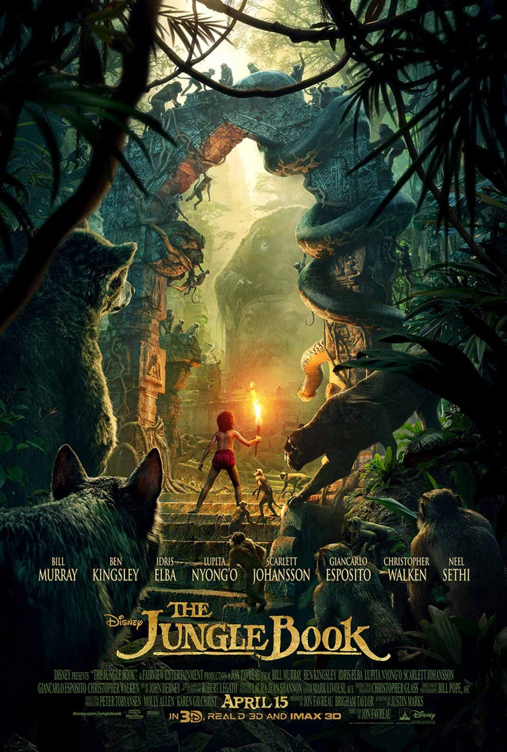 The Jungle Book Poster #6