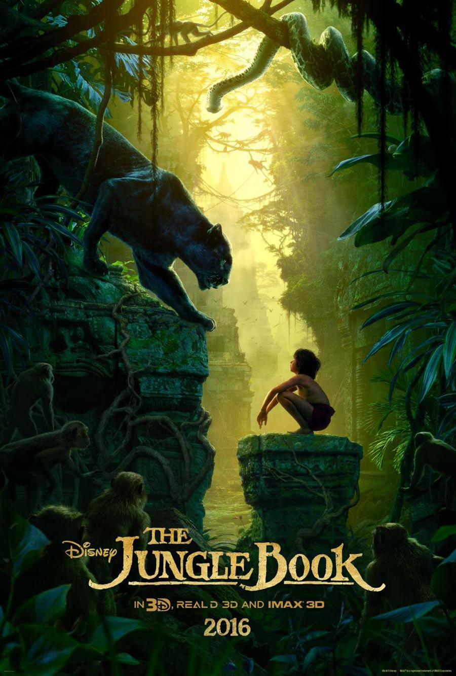 The Jungle Book Poster #1
