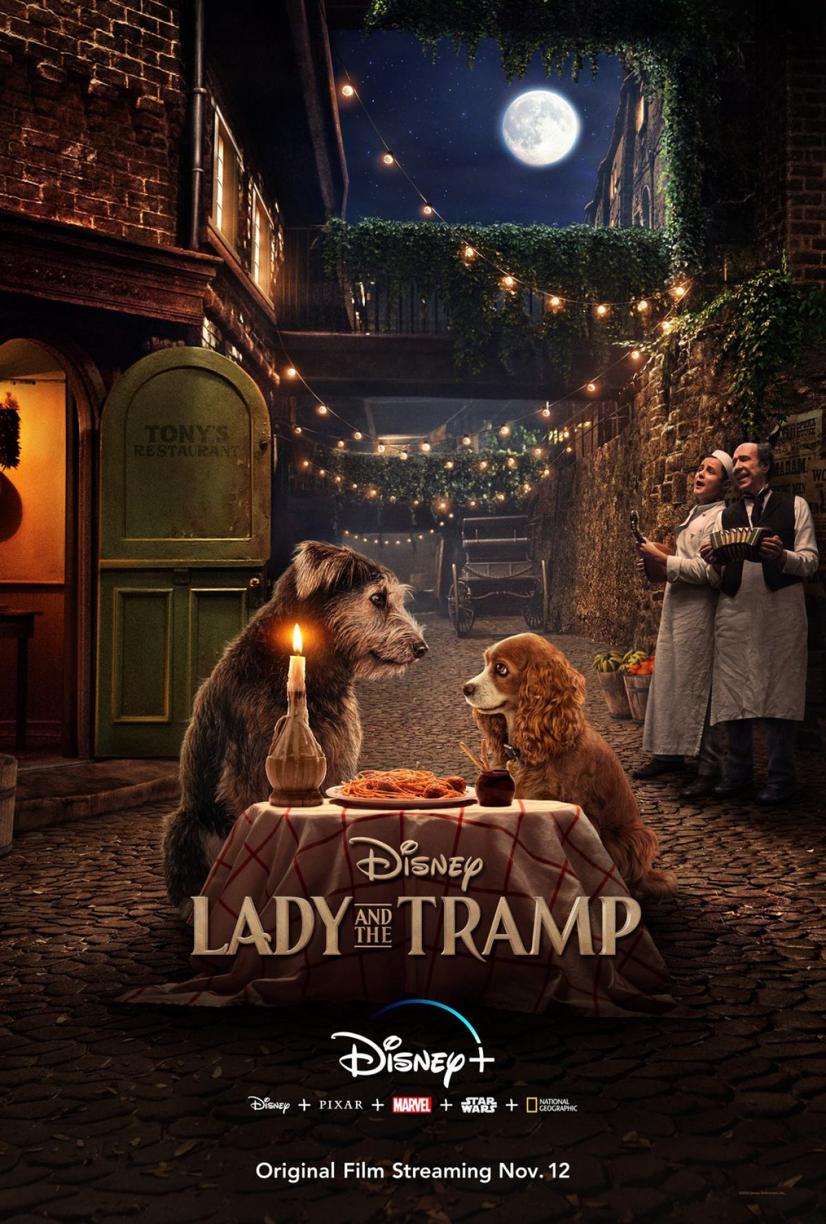 Lady and the Tramp Poster #1