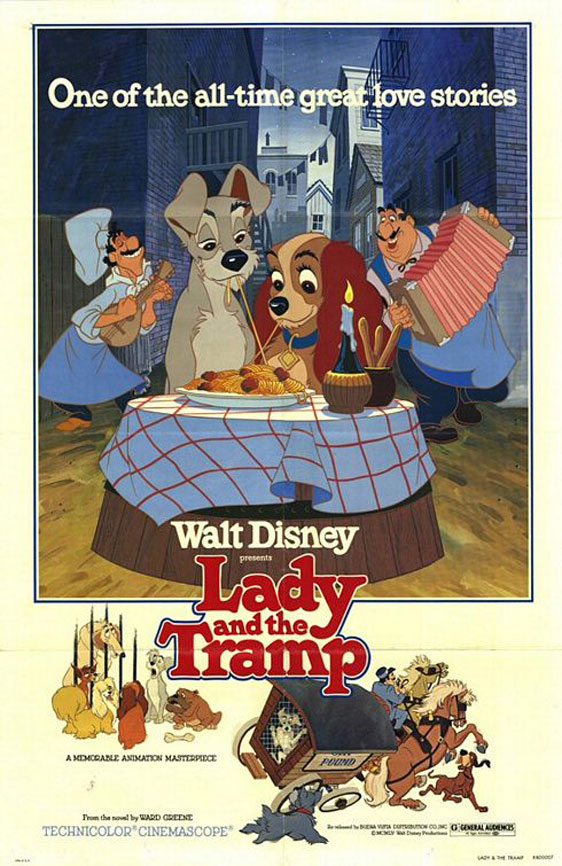 Lady and the Tramp Poster #3