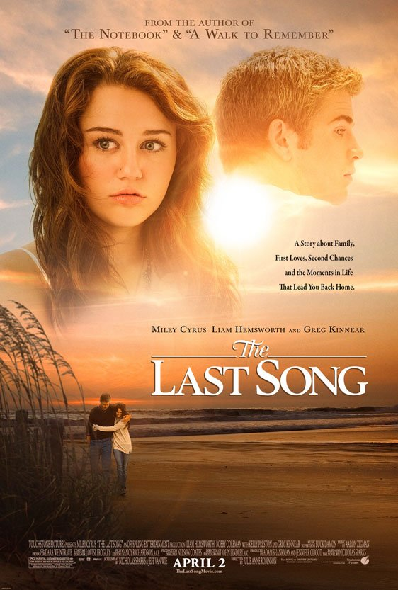 The Last Song Poster #2