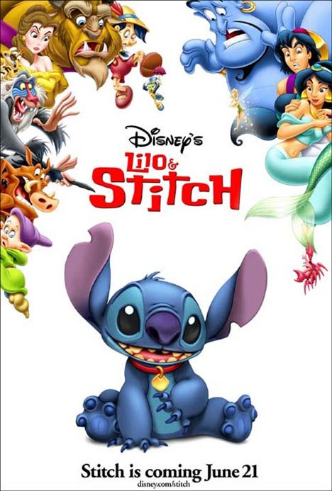 Lilo  Stitch 2002 Poster 1 - Trailer Addict-2339