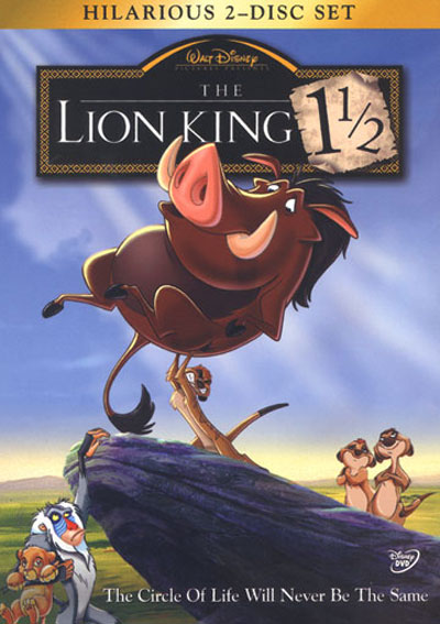 The Lion King 1½ Poster #2
