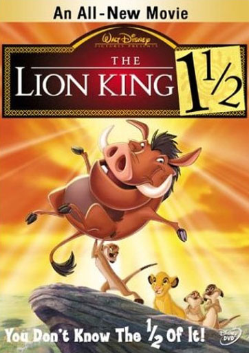 The Lion King 1½ Poster #1