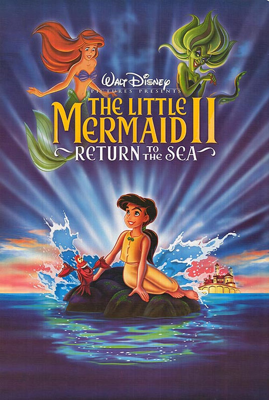 The Little Mermaid 2: Return to the Sea Poster #1