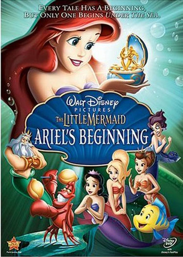 The Little Mermaid - Ariel´s Beginning Poster #1