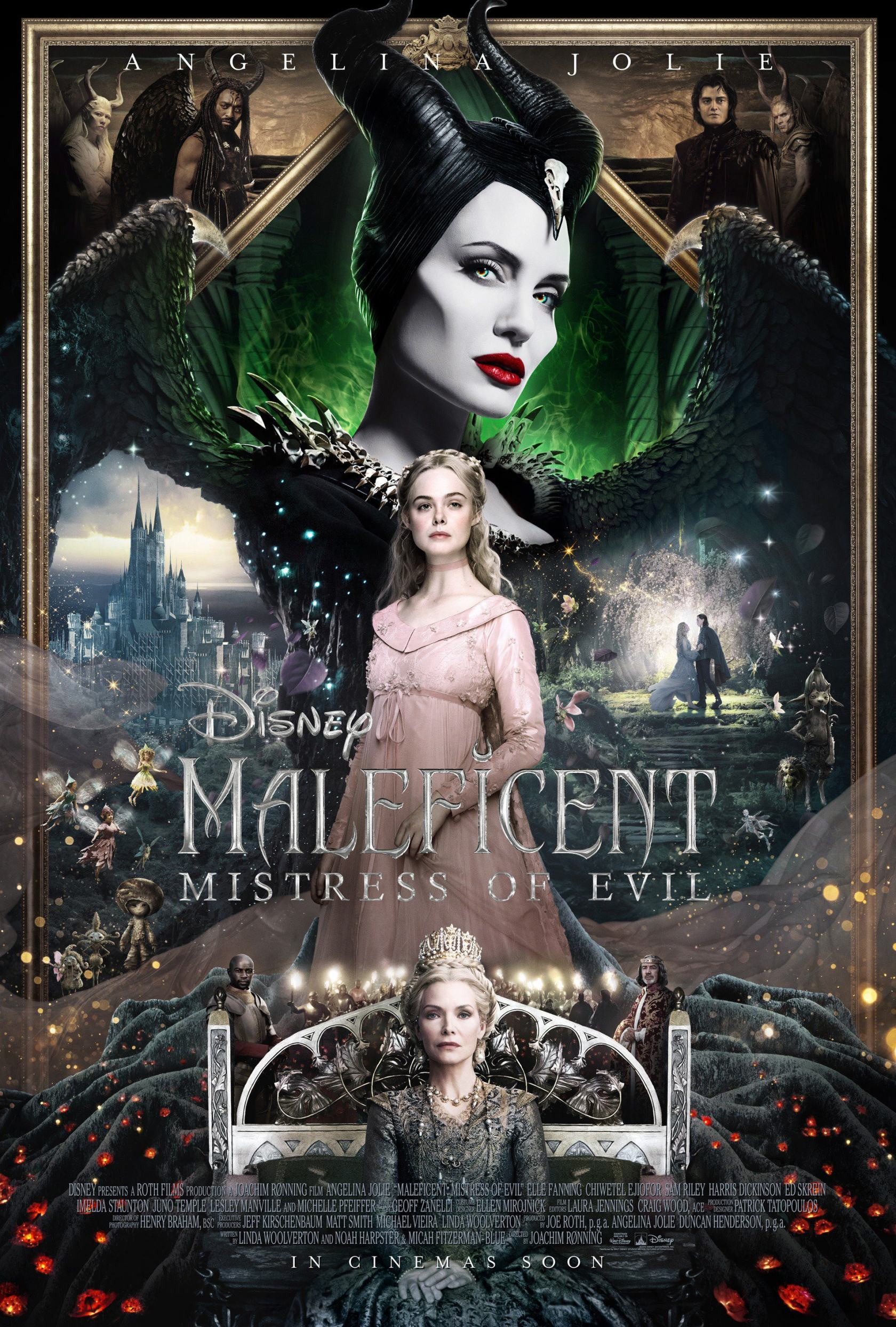 Image result for maleficent mistress of evil poster