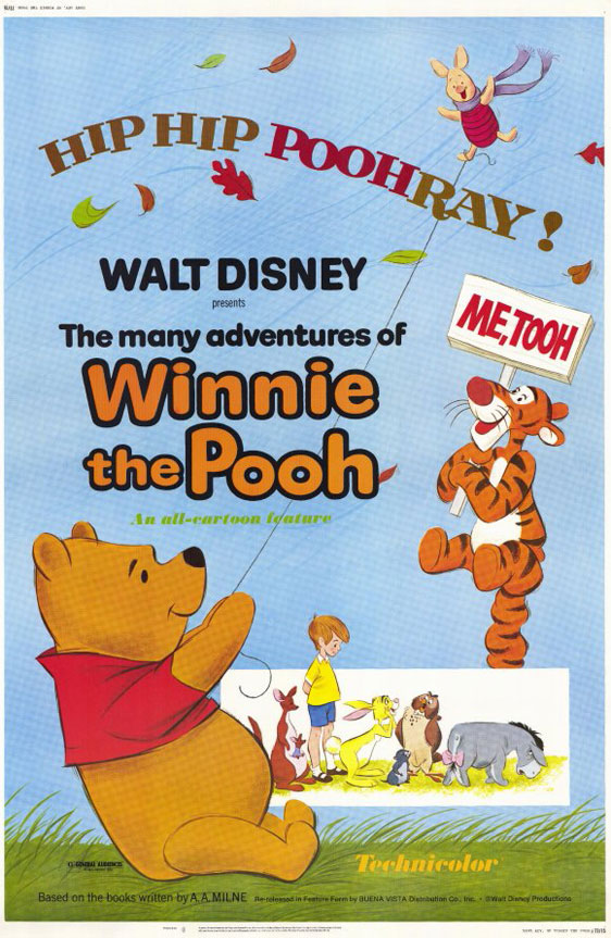 The Many Adventures of Winnie the Pooh Poster #1
