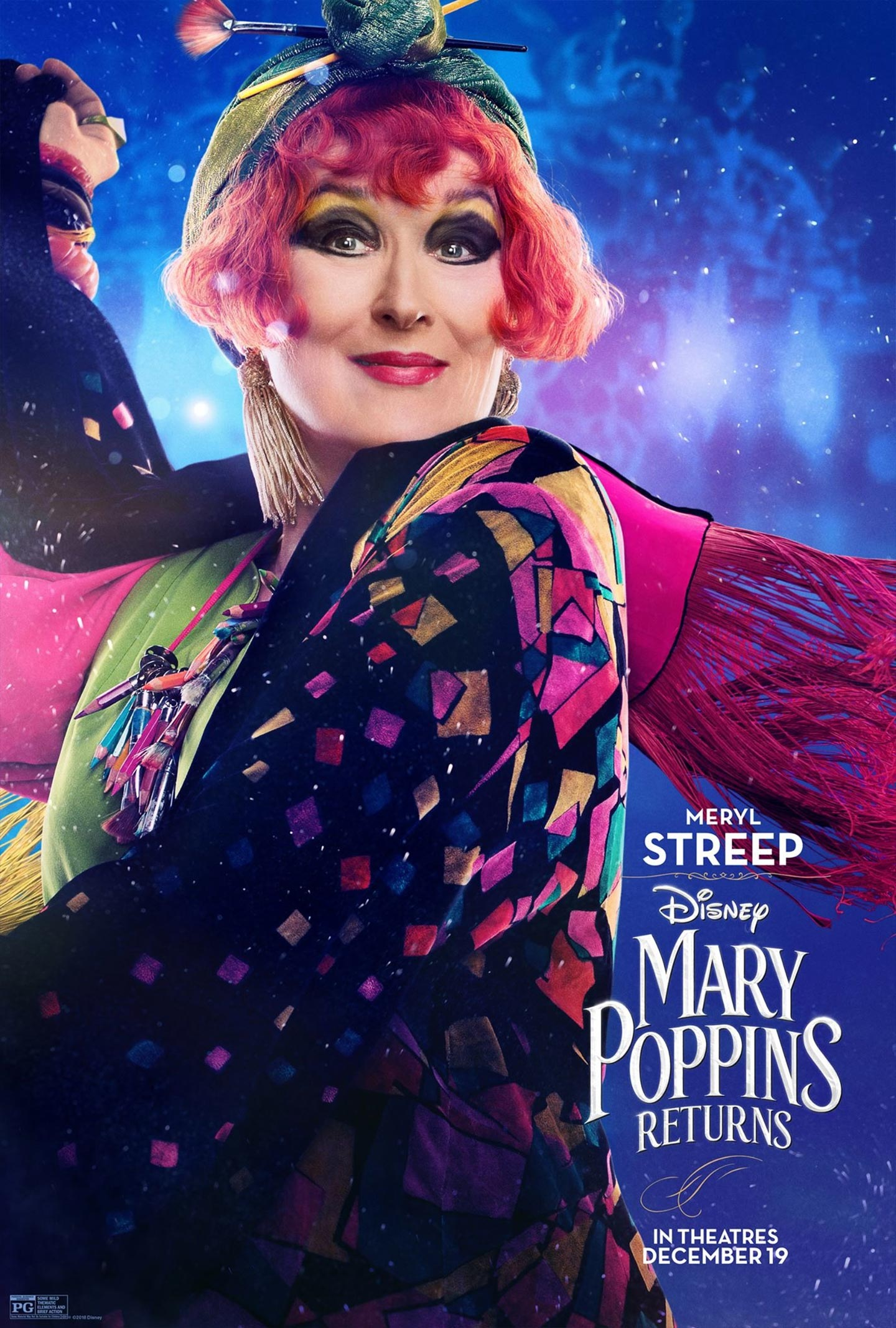 Mary Poppins Returns Poster #4