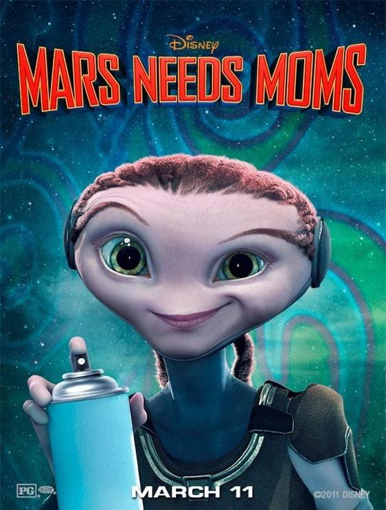 Mars Needs Moms Poster #3
