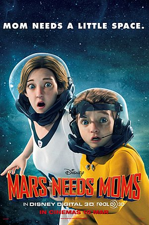 Mars Needs Moms Poster #5