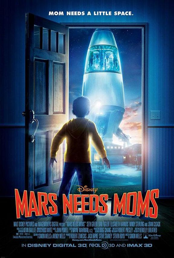 Mars Needs Moms Poster #1